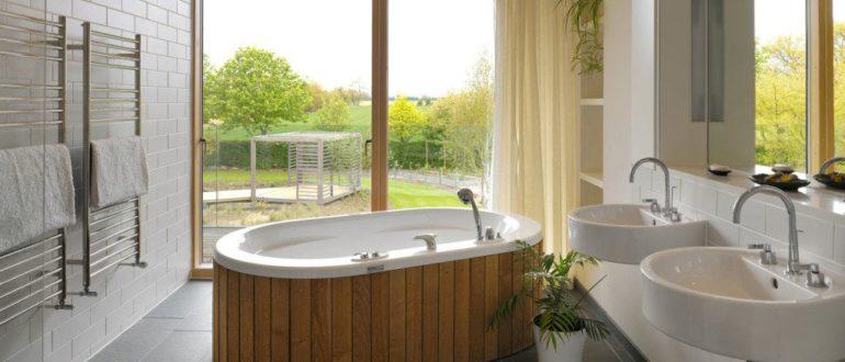 Ванная комната своими руками в частном доме