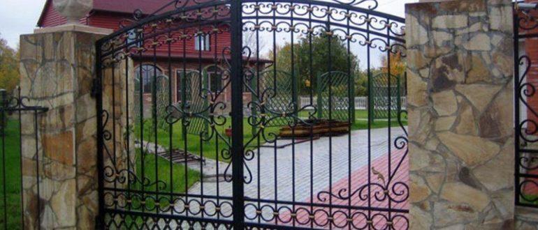 Ворота своими руками в частном доме