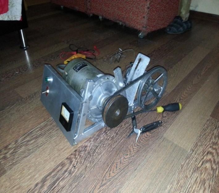Применение генератора стиральной машины