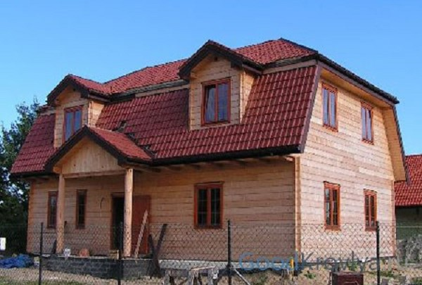 Вальмовые/полувальмовые крыши