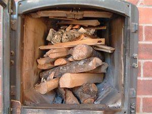 Выжигание сажи осиновыми дровами