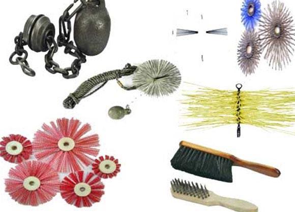 Инструменты для чистки трубы