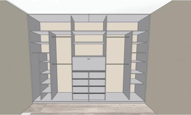 Отдельностоящий шкаф