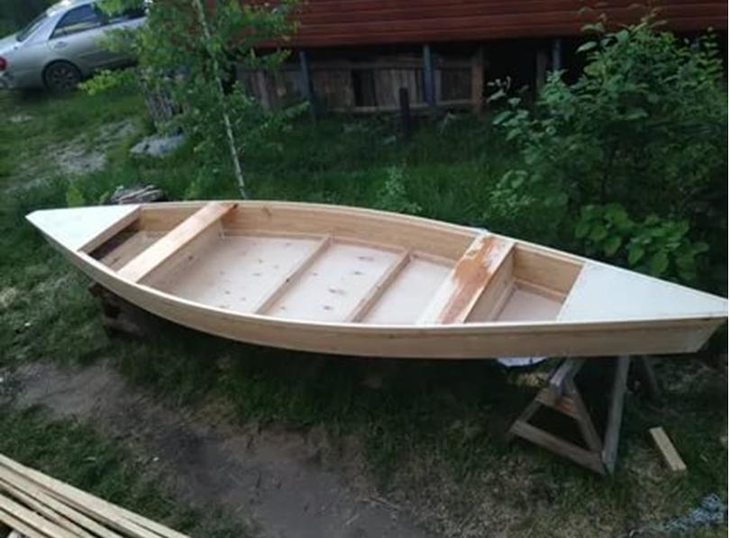 Лодка до обработки