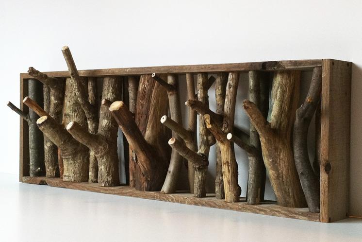 Деревянные крючки