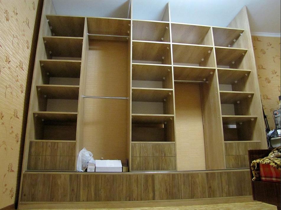 Готовая конструкция шкафа