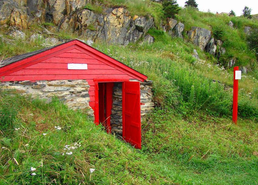 Сооружение в виде домика