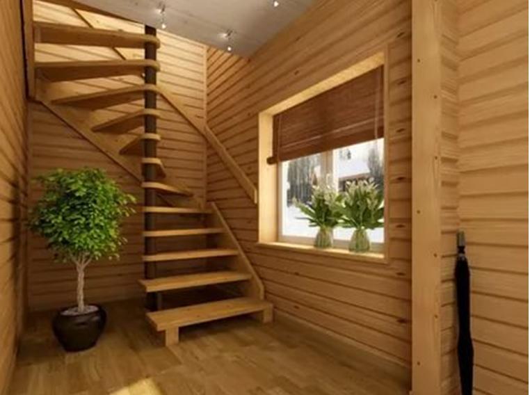 Винтовая вариация лестницы
