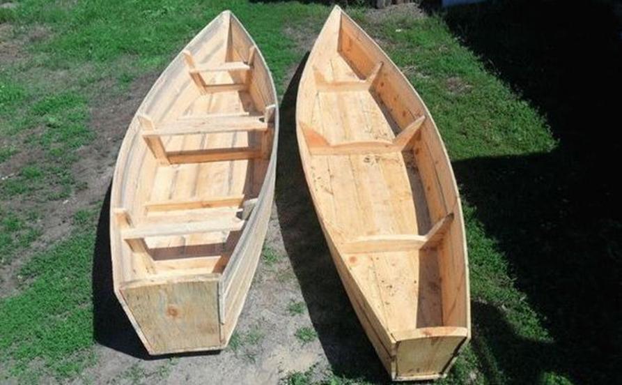 Примеры деревянных лодок