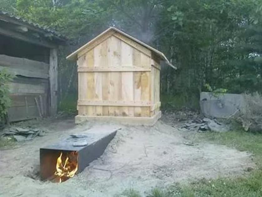 Процесс розжига