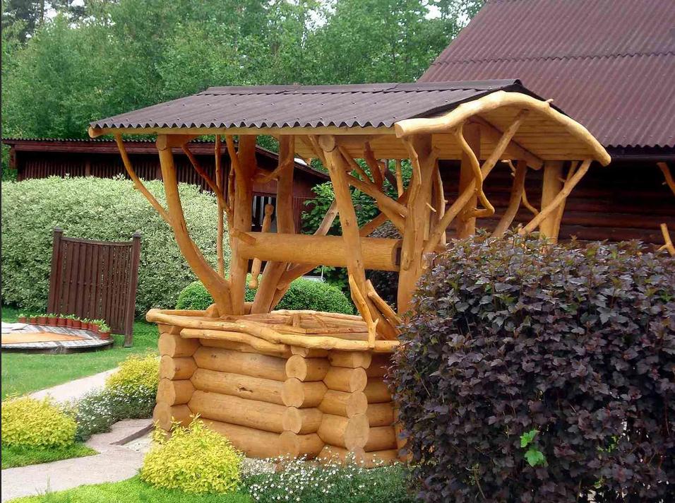 Ветки деревьев в качестве декоративного оформления