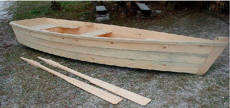 Пример изготовления лодки