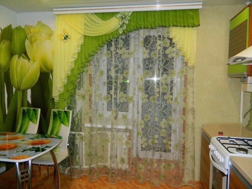 Кухонная штора