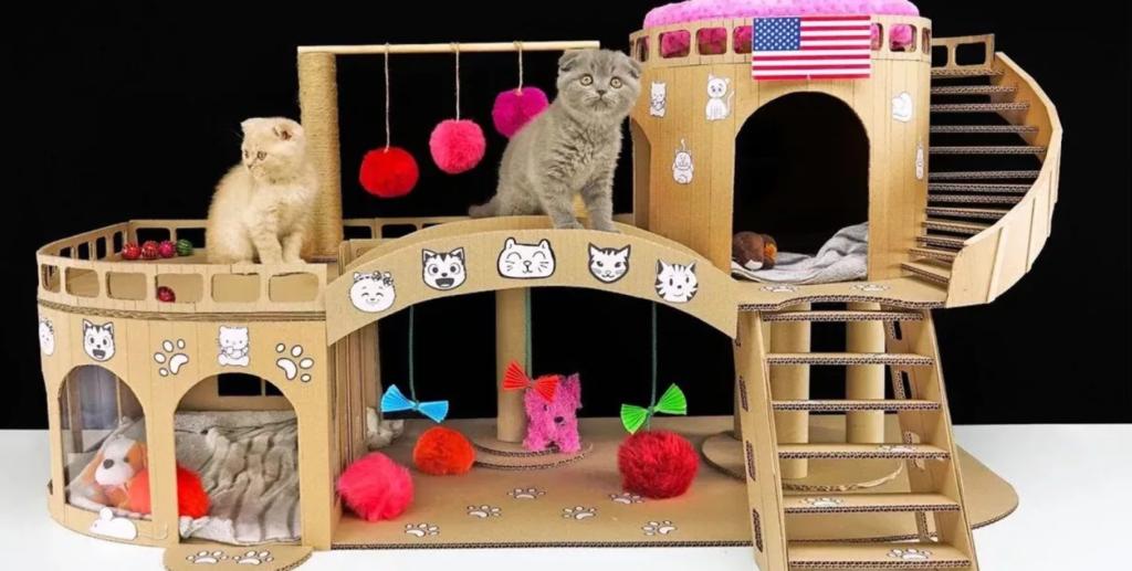 Игровая зона для котят