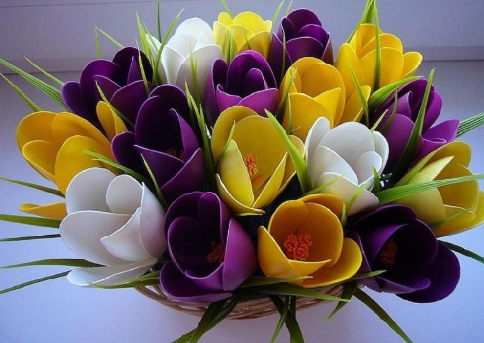 Пластиковая посуда для цветов