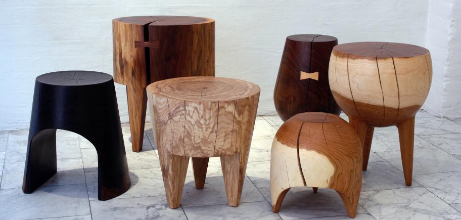 Бревенчатые стулья