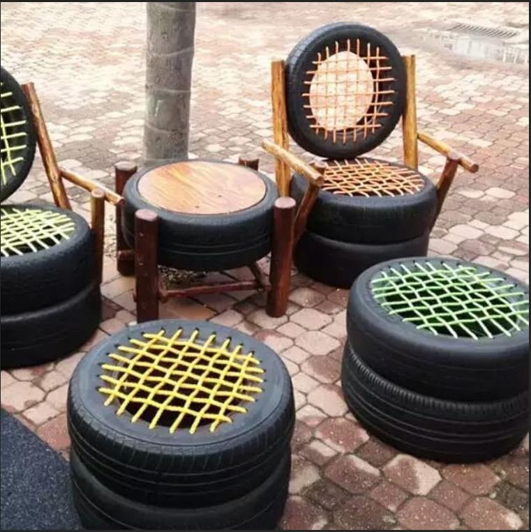 Кресло с плетением