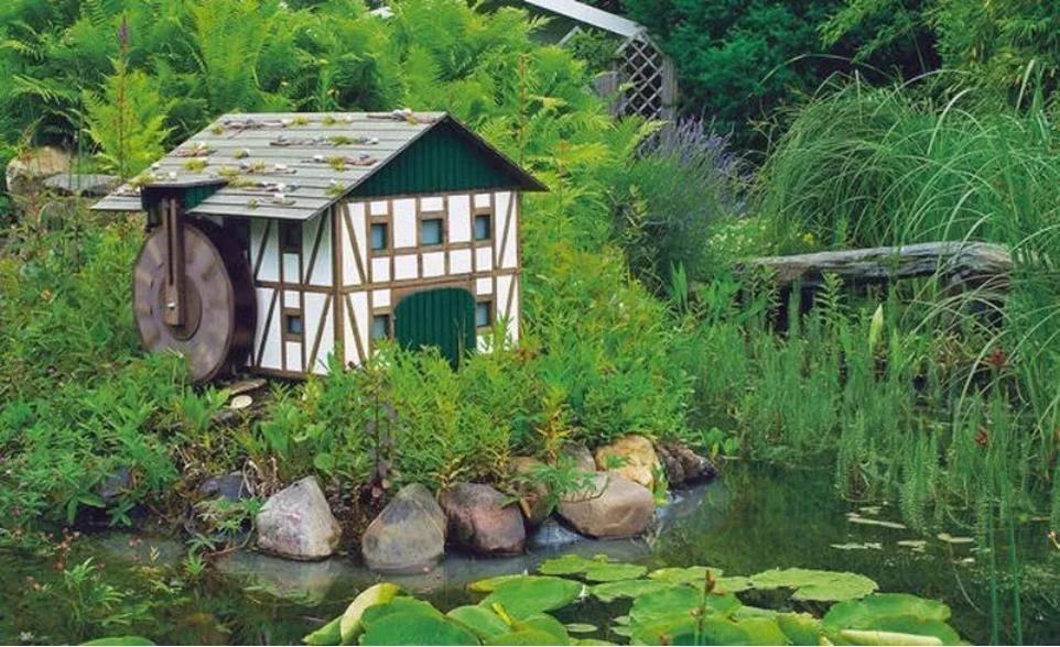 Пример конструкции на водоеме