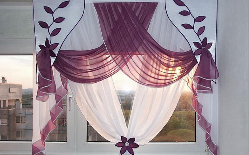 Фигурные шторы