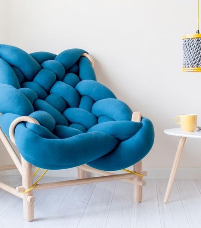 Пдетеный вариант подушки на каркасе