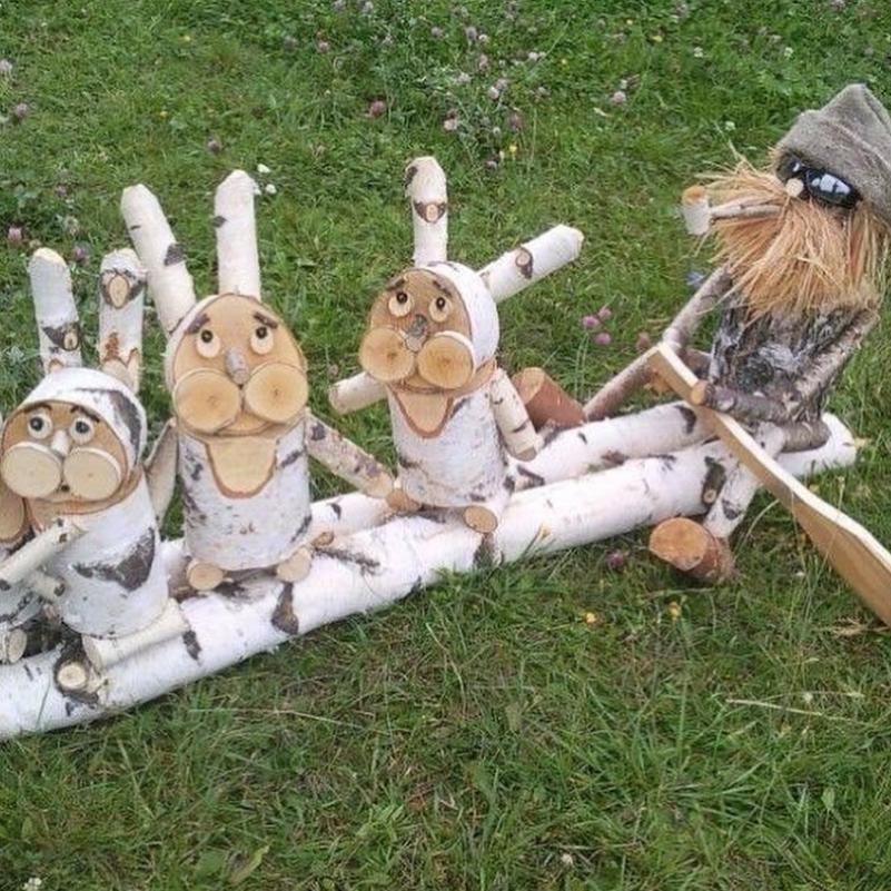 Композиции из древесины