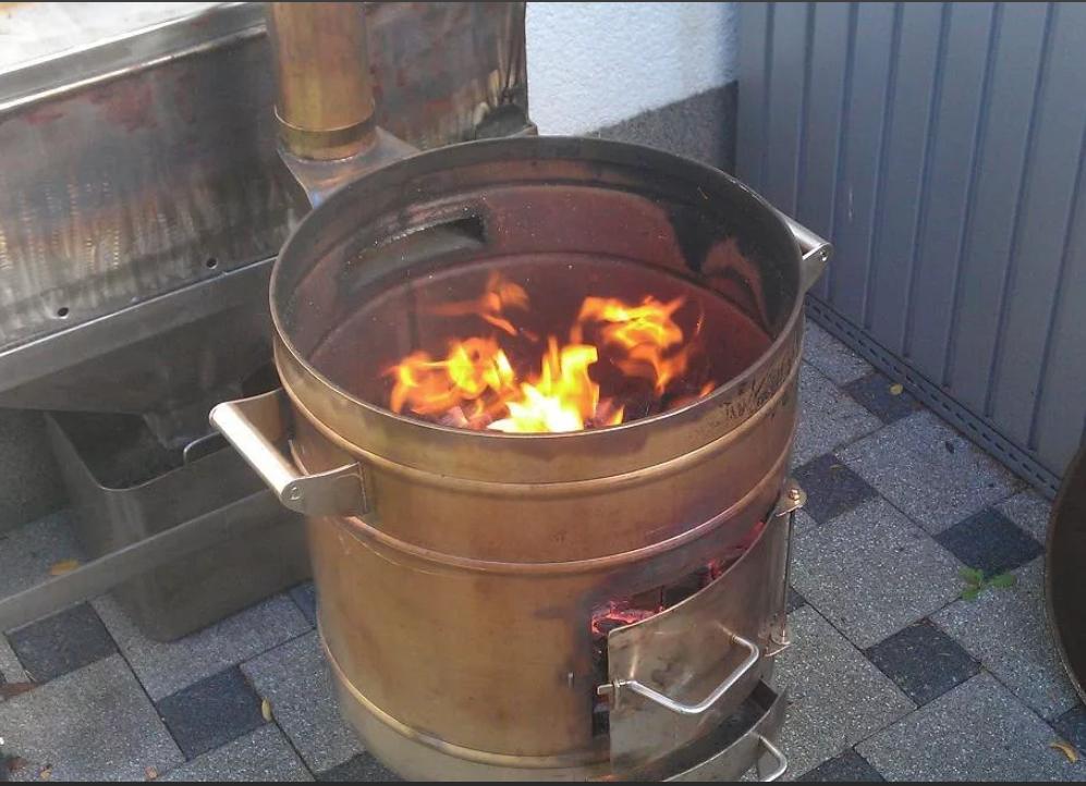 Котел с верхним горением