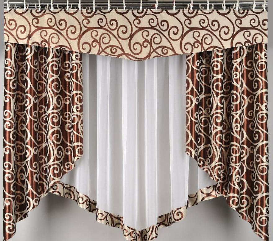 Комбинация из нескольких штор