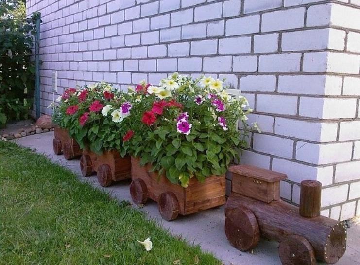 Композиция для цветника