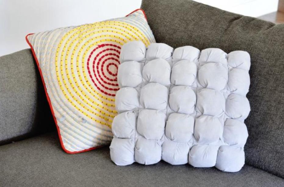 Подушка из отдельных элементов