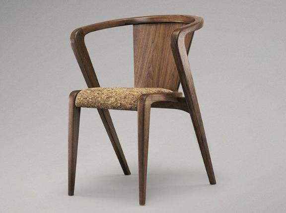 Стул в виде кресла