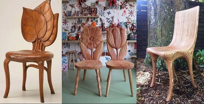Резные стулья
