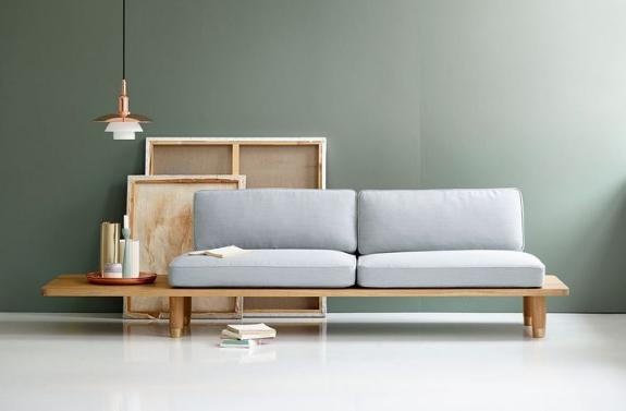 диван из мебельного щита