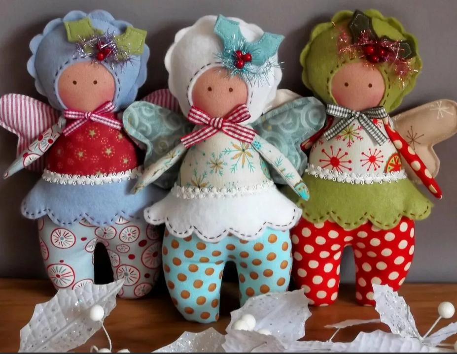 Тряпичные куколки