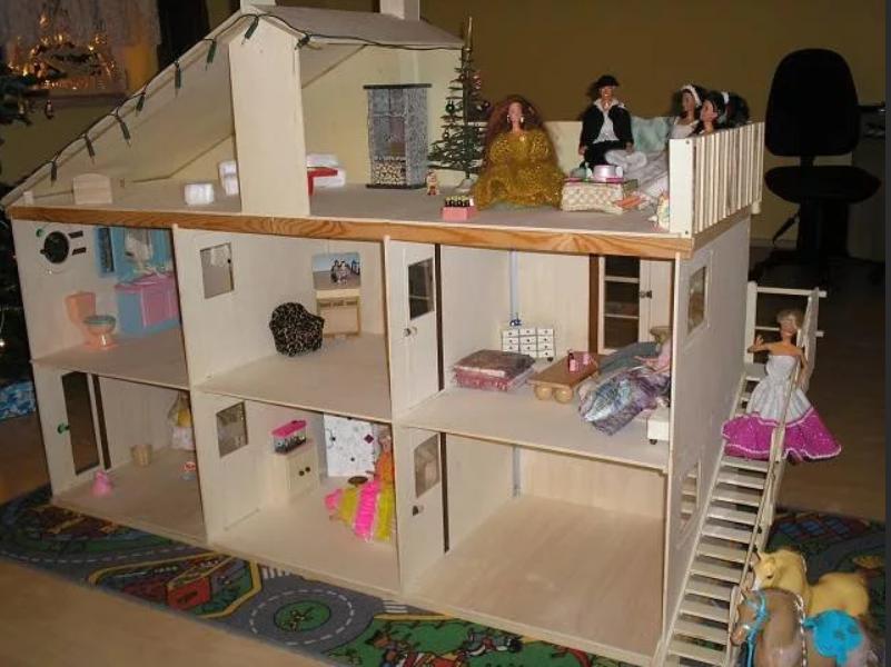 Многоярусный домик