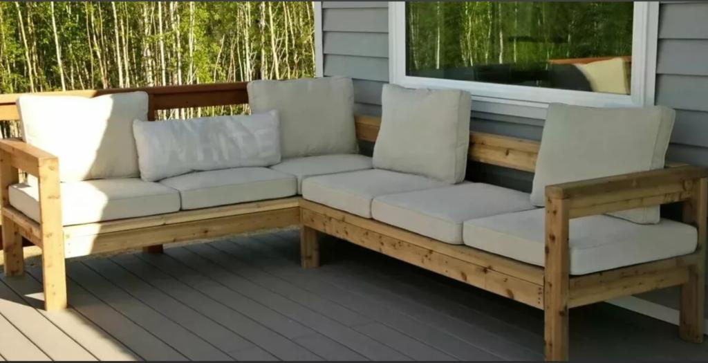 Мебель на летней веранде