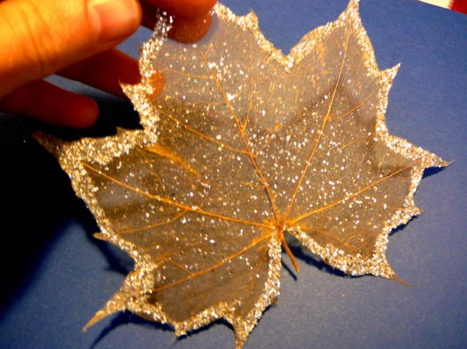 Украшение листьев