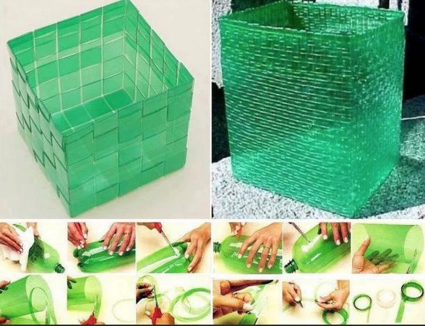 Пластиковые корзинки
