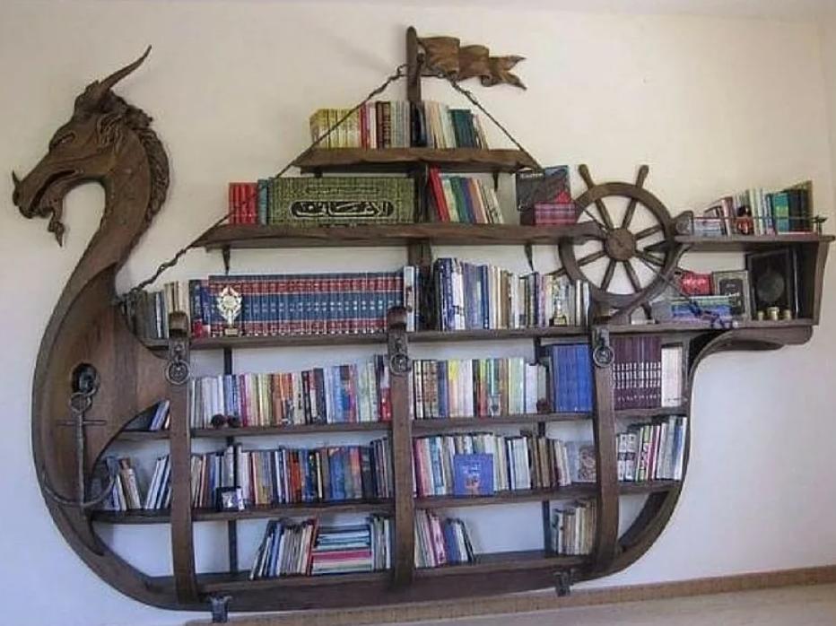 Полочка для любителя мореплавания