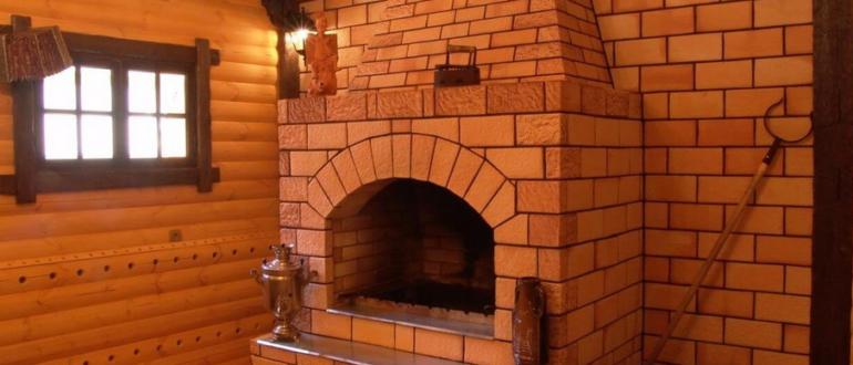 Печь в русском стиле