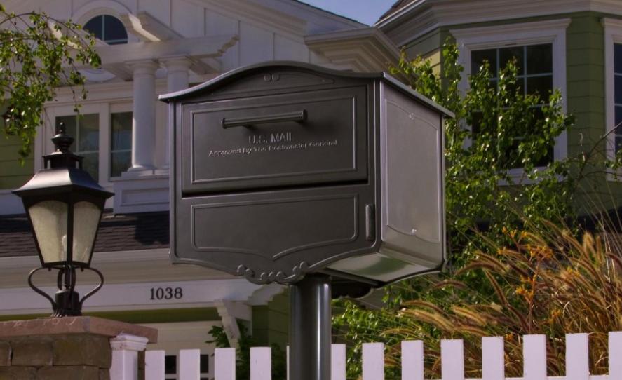 Почтовый ящик в изысканном стиле