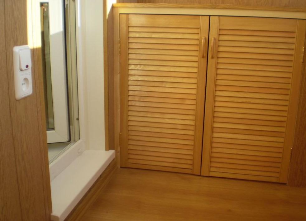 Вариант обшивки дверок