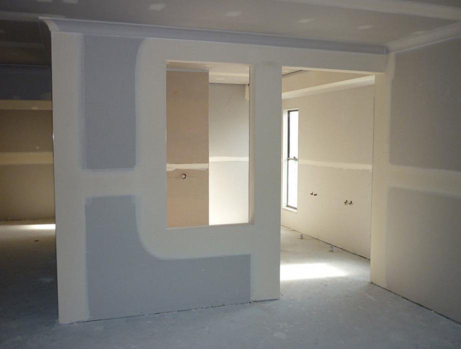 Стена, готовая к отделке