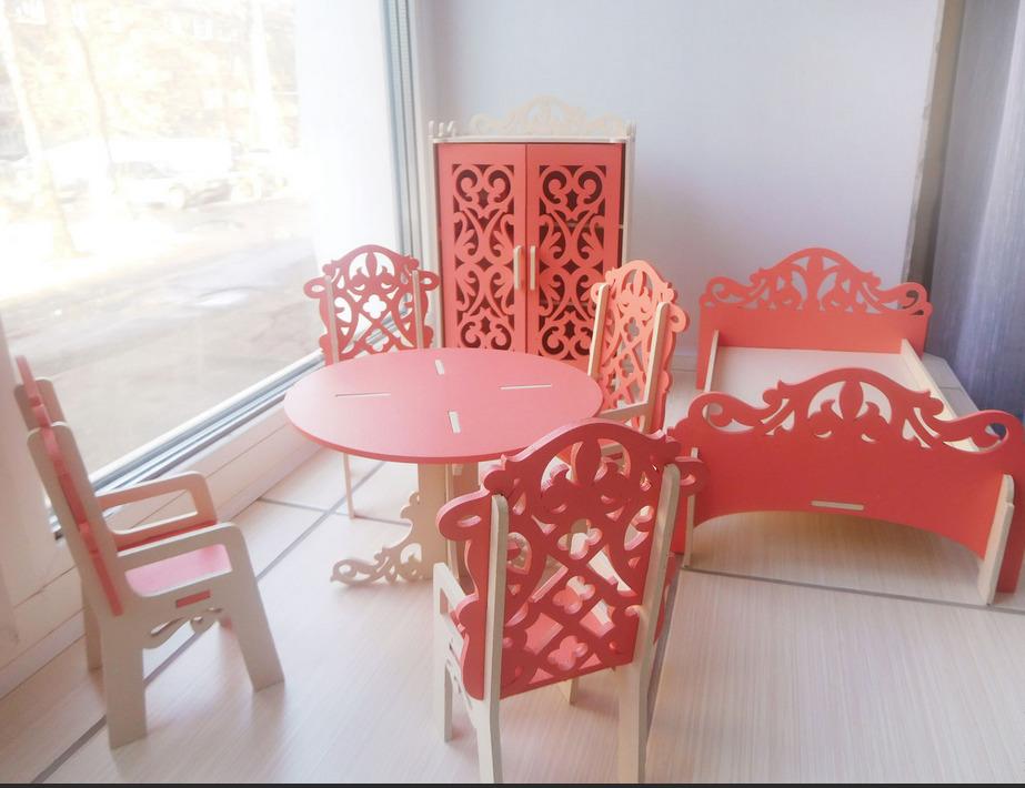 Окрашенная мебель
