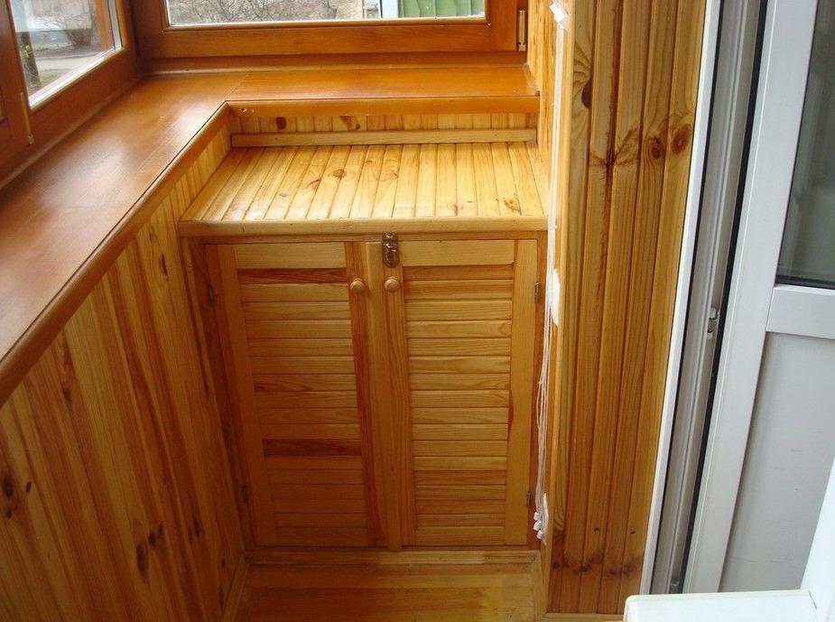 Готовая конструкция мини-шкафа