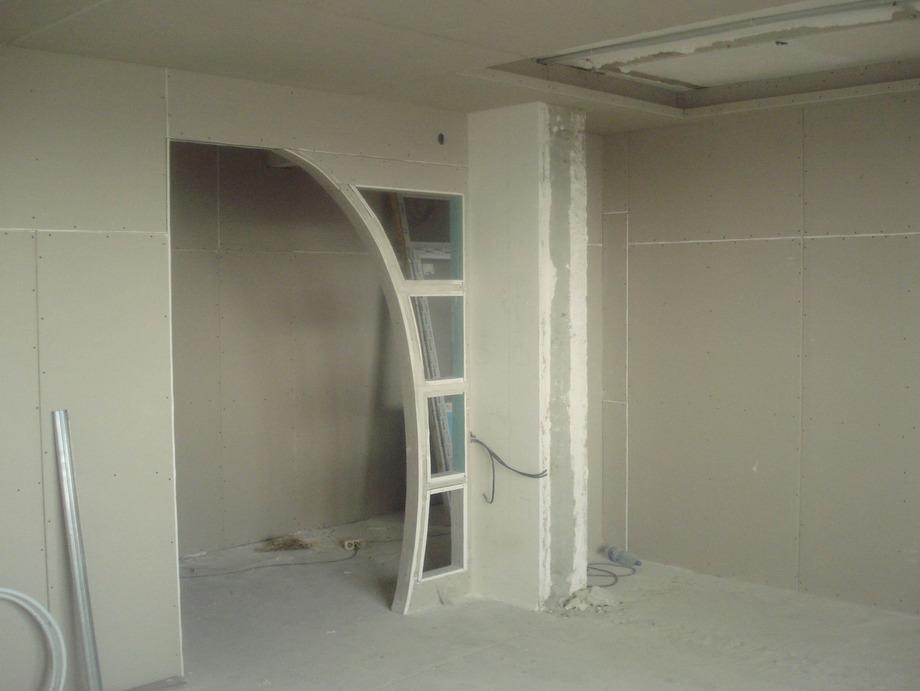 Стена с проемом