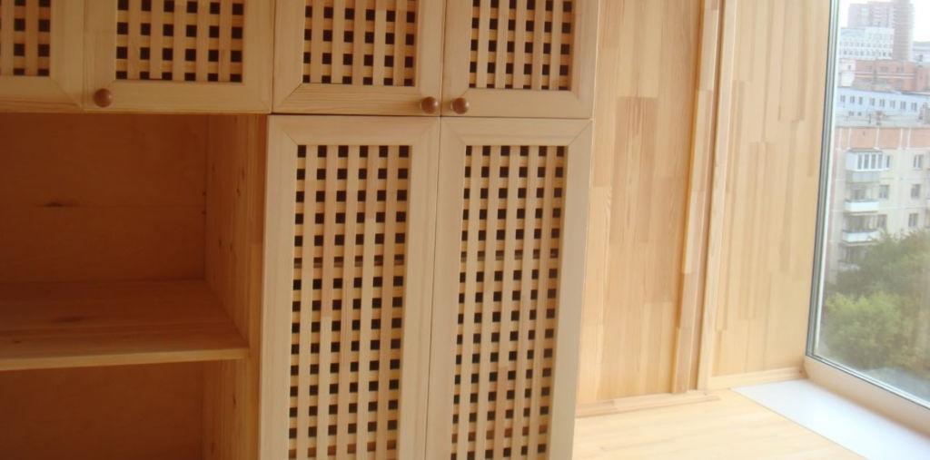 Дверки в виде сетки