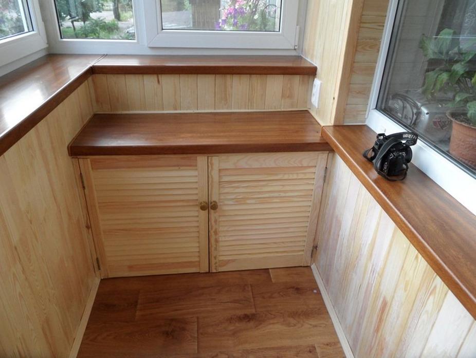 Ламинированная столешница на шкаф