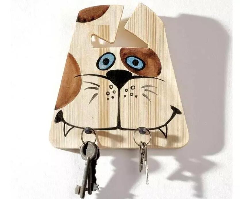 Из деревянной доски