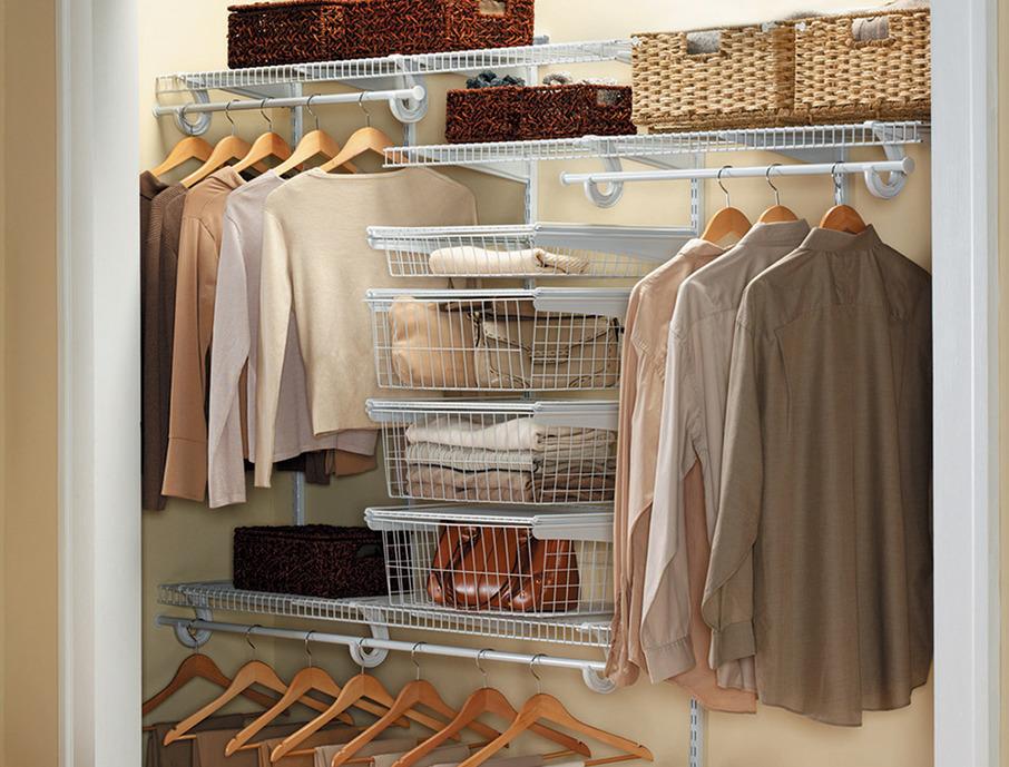Пример размещения одежды