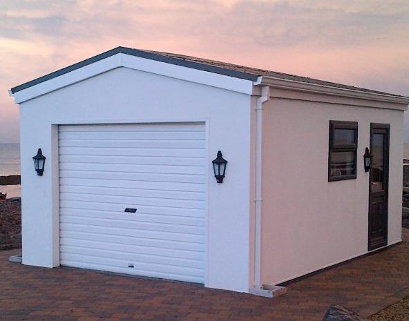 Белы панели для гаража